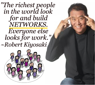 Robert Kiyosaki-buildnetworks-residual-passive-income