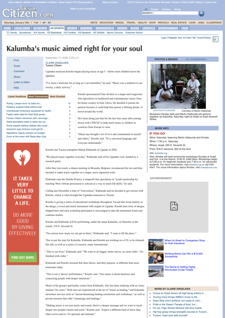 Kalumba's music aimed right for your soul 2019-06-24 20-50-48